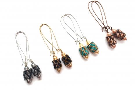 Charming Channel Earrings